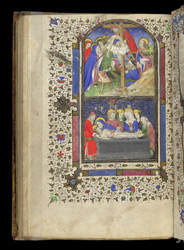 Scenes of the Passion of Christ, in a Volume of Writings on Ely